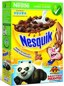 Παίξε με τους ήρωες της ταινίας «Kung Fu Panda 2»  στα δημητριακά NESTLE!