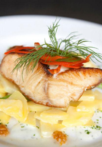 Πέρκα στο φούρνο με πατάτες: Mια υγιεινή συνταγή