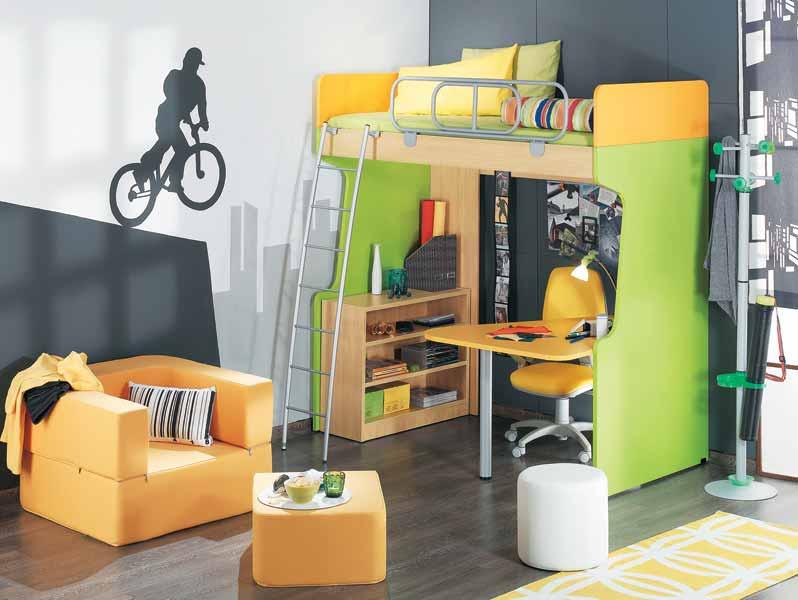 Κουκέτα Super Loft της Μodeco: εξοικονόμηση χώρου στα παιδικά-νεανικά δωμάτια!