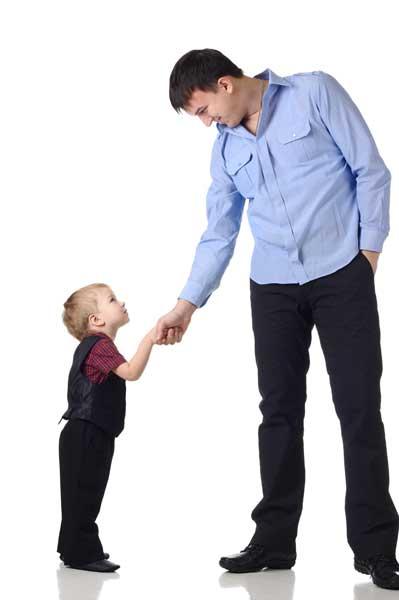 Μπαμπάς και παιδί