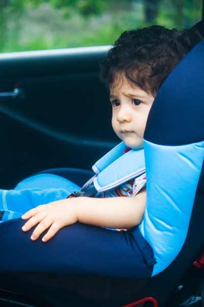 Οδηγός για μεταφορά παιδιού στο αυτοκίνητο