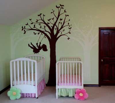 Twin-Nursery-Wall-Murals