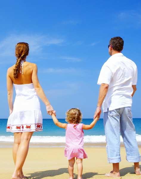 family beach1