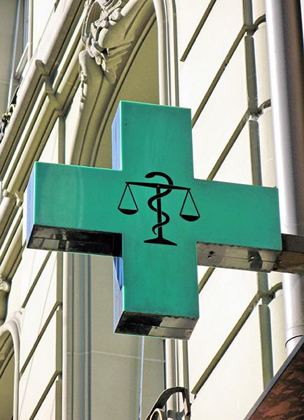 Pharmacy-sign