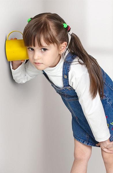 Girl-Overhearing